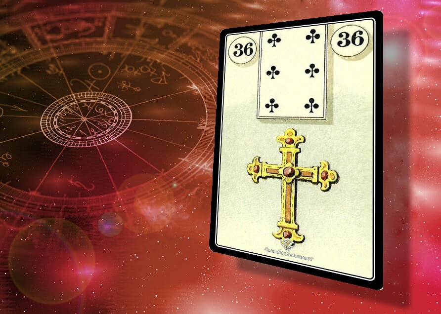 sibille lenormand 36: Croce