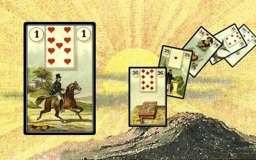 Le carte delle sibille: le lenormand
