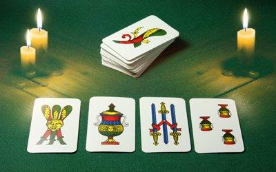 La lettura delle Carte Napoletane in cartomanzia